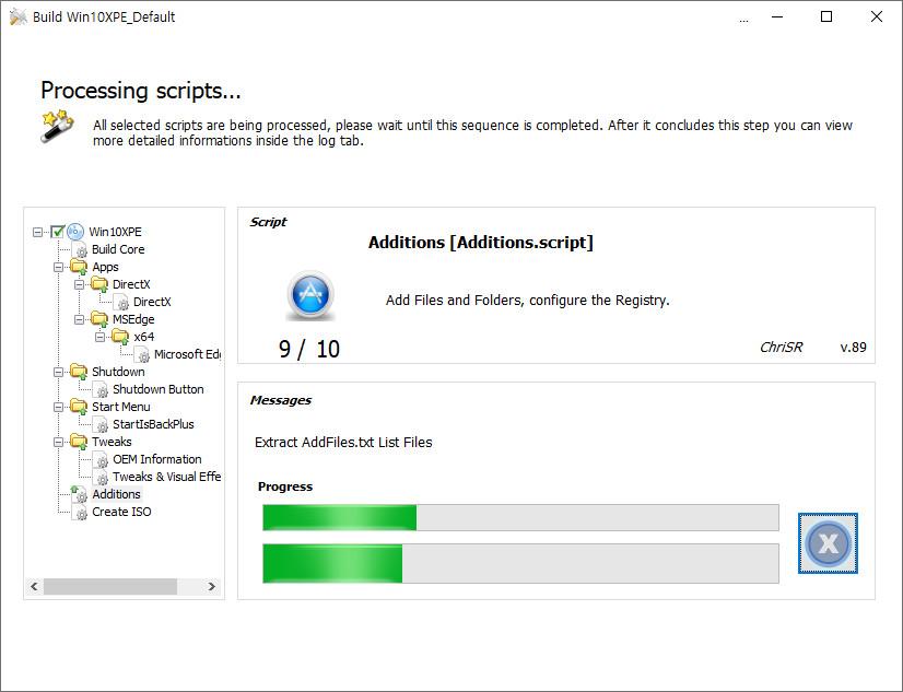 2020-09-15 업데이트 통합 PRO x64 2개 - Windows 10 버전 2004 + 버전 20H2 누적 업데이트 KB4577063 (OS 빌드 19041.538 + 19042.538) - PE 만들기 테스트 2 2020-09-15_100941.jpg