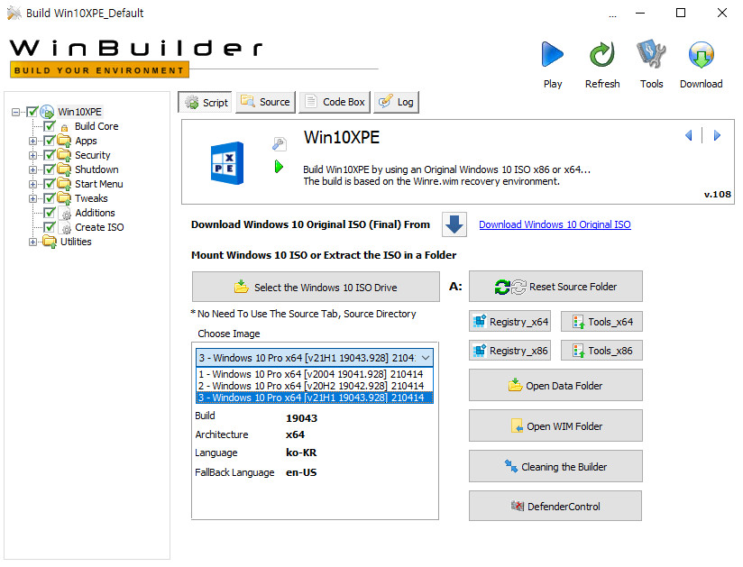 2021-04-14 수요일 정기 업데이트 - PRO x64 3개 버전 통합 - Windows 10 버전 2004, 빌드 19041.928 + 버전 20H2, 빌드 19042.928 + 버전 21H1, 빌드 19043.928 - 공용 누적 업데이트 KB5001330 - 2021-04-14_034617.jpg