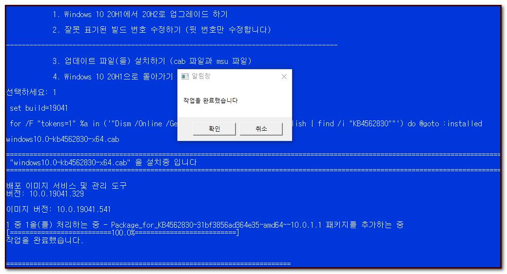 20H2 업글 완료.png