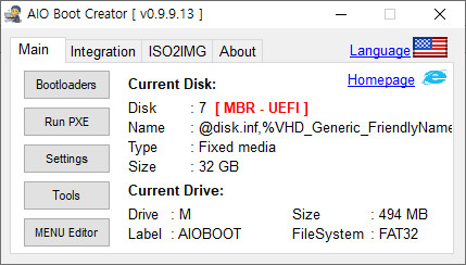 AIO Boot와 Ventoy 하나의 디스크에 합치기 - bios 모드 연동 문제 해결 - Ventoy 기준으로 AIO Boot는 해결함 2020-09-18_074129.jpg