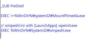 WinPE mid를 부팅 때 ISO를 Y드라이브 자동 마운트 시키는 방법 2020-10-07_140239.jpg