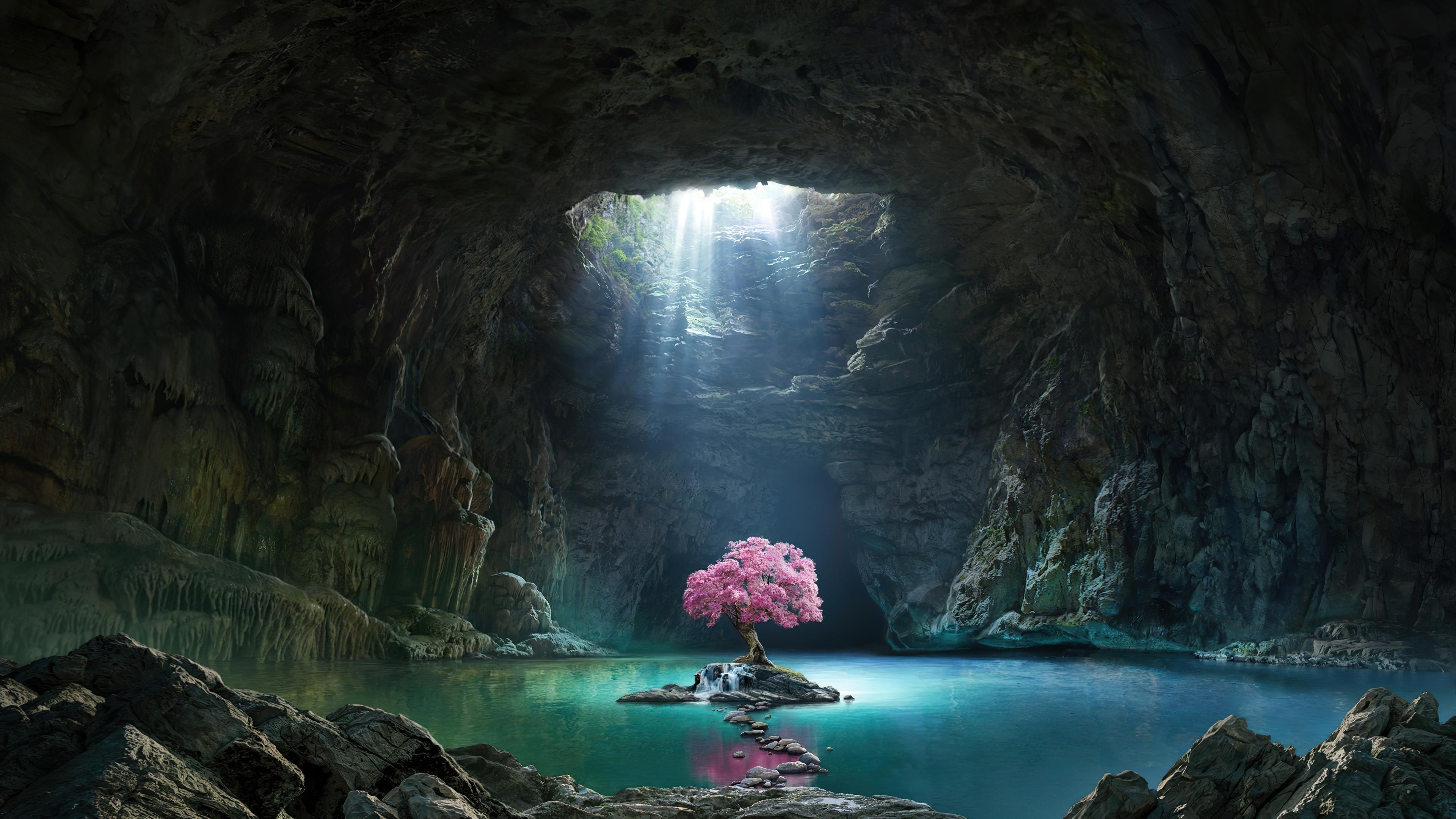 beautiful-cherry-blossom-cave-lake-scenery-uhdpaper.com-4K-6.446.jpg