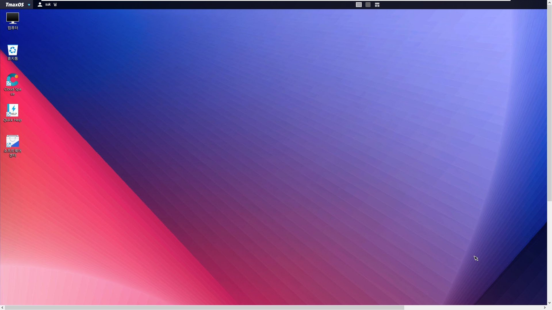 TmaxOS 설치 테스트 - 2번째 시도 - 이번에는 윈도에서 Tmax에서 제공한 T-Up TmaxOS.exe 으로 멀티 부팅으로 설치하기 2019-08-20_215016.jpg