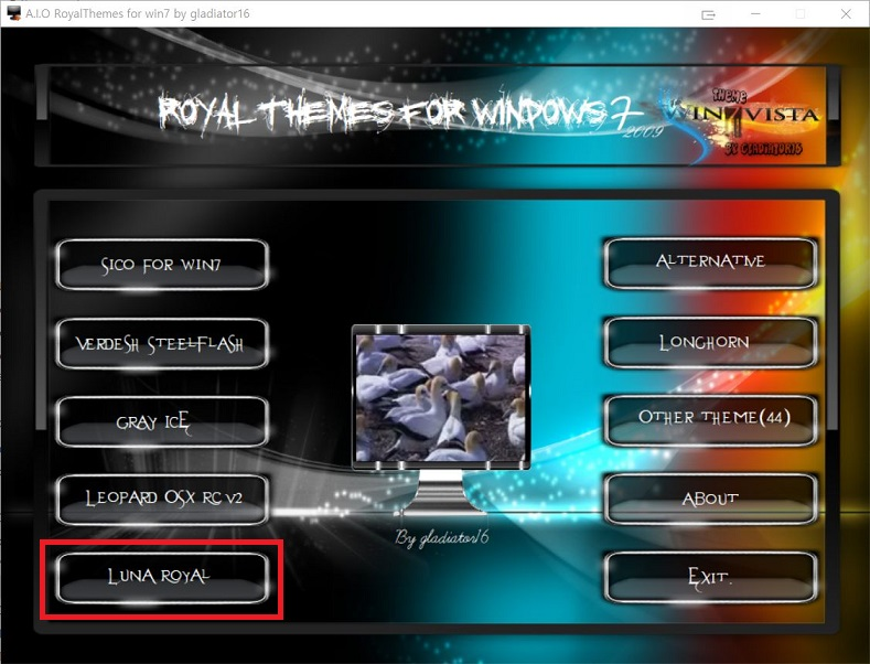 Luna theme for Win7.JPG