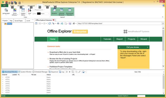 Download Offline Explorer Enterprise Free